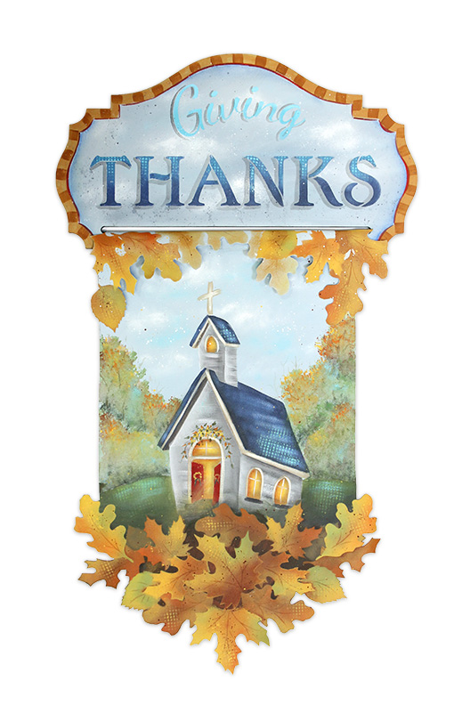 Giving Thanks Banner - E-Packet -Patricia Rawlinson