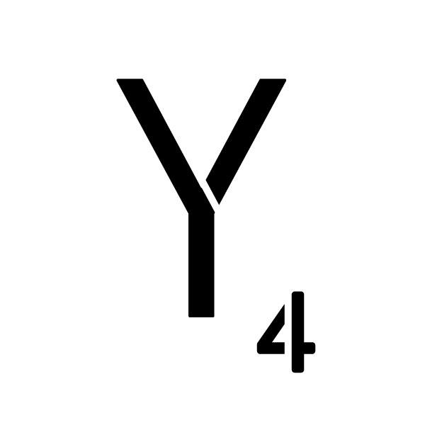 "Word Game Letter Stencil - Y - 6"" x 6"""