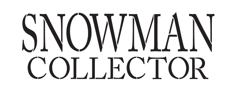 "Snowman Collector - Word Stencil - 14"" x 6"" - STCL1140_1"