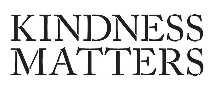 """Kindness Matters - Word Stencil - 16"""" x 7"""" - STCL1141_2"""