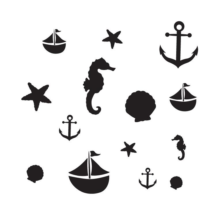 """Come Sail Away - Art Stencil - 15"""" x 15"""" - STCL1123_4"""