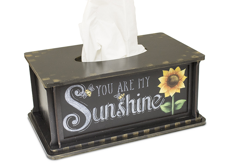 You Are My Sunshine Tissue Box - DVD and Pattern Packet - Patricia Rawlinson