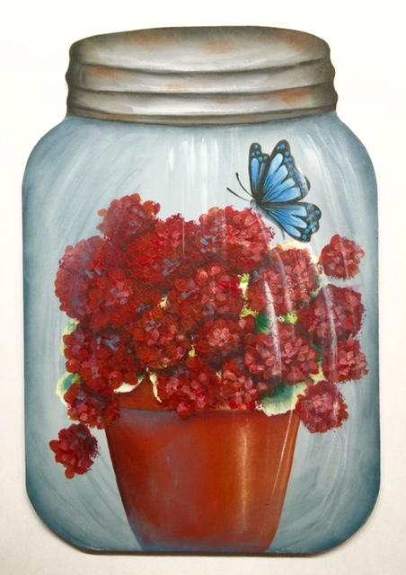 Geraniums In a Jar - E-Packet - Lonna Lamb