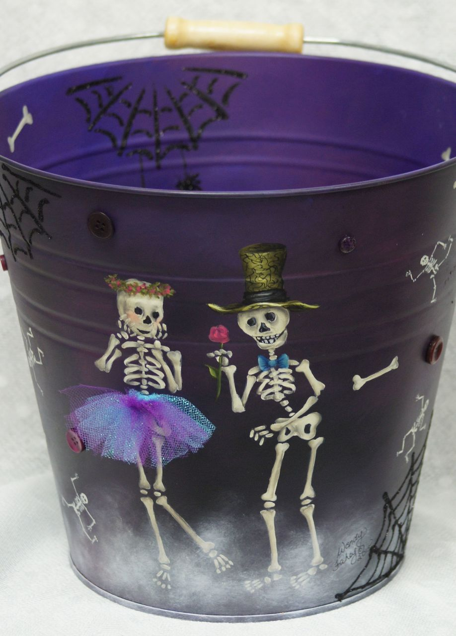 Buttons and Bones Treat Pail - E-Packet - Wendy Fahey