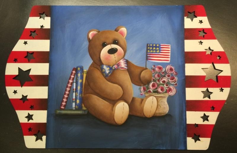 Beary Patriotic - E-Packet - Lonna Lamb