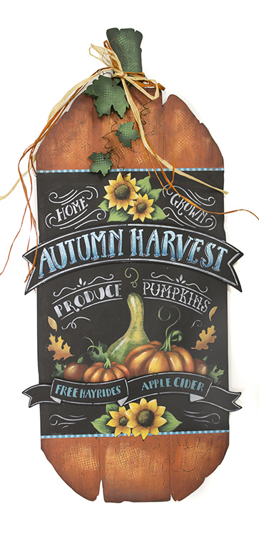 Autumn Harvest Sign - DVD and Pattern Packet - Patricia Rawlinson