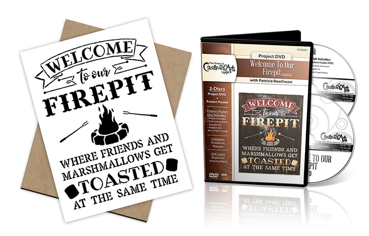 Welcome To Our Firepit DVD Deluxe Set