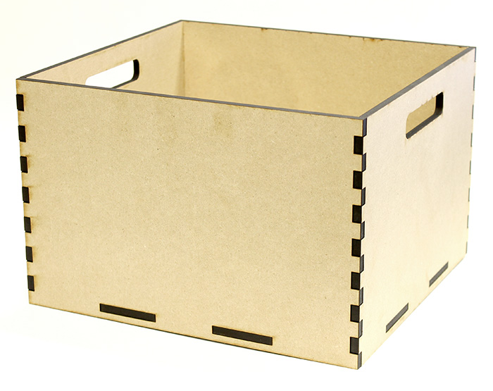 Milk Crate Tote Box