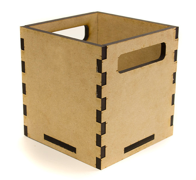 Small Square Tote Box