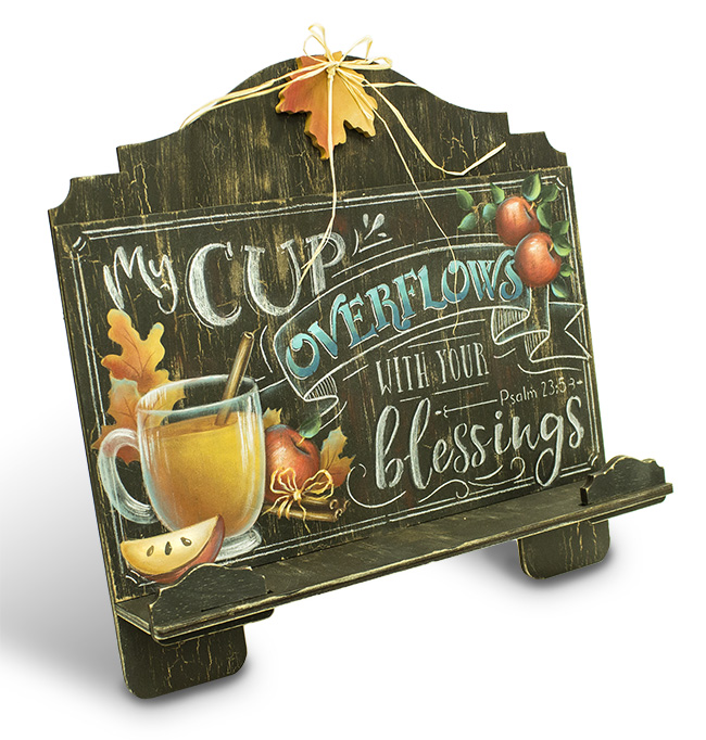Cup of Blessings Cookbook Stand - E-Packet - Patricia Rawlinson