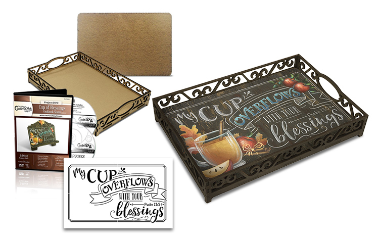 Cup of Blessings Anyway Tray + DVD Deluxe Set