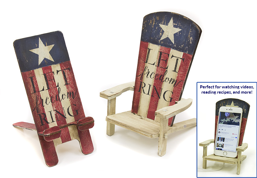 Let Freedom Ring Phone Stands - E-Packet - Patricia Rawlinson