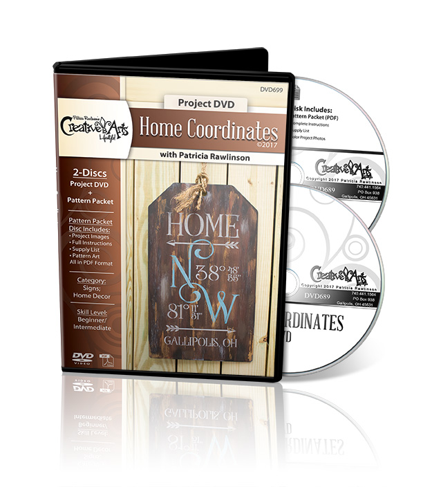 Home Coordinates - DVD and Pattern Packet - Patricia Rawlinson