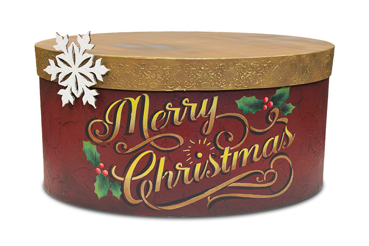 Christmas Keepsake Box - E-Packet - Patricia Rawlinson