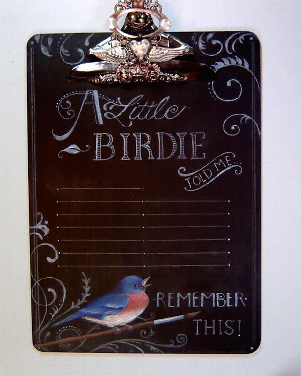 A Little Birdie Told Me - E- Packet - Judith Westegaard
