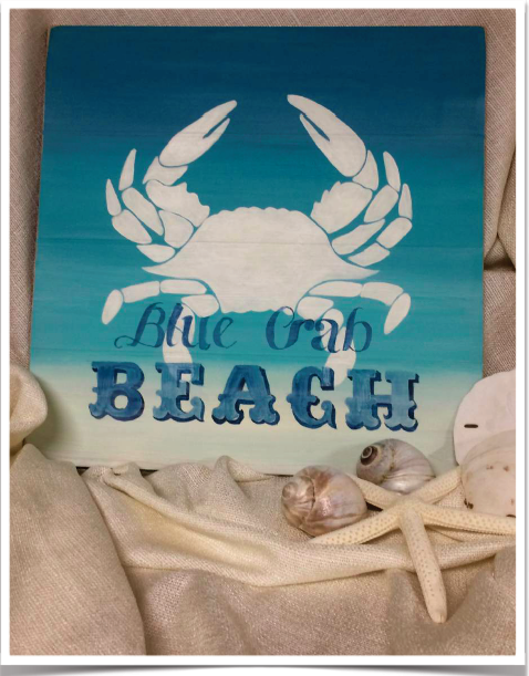 Sun, Sand and the Sea & Blue Crab Beach - E-Packet - Tracy Moreau