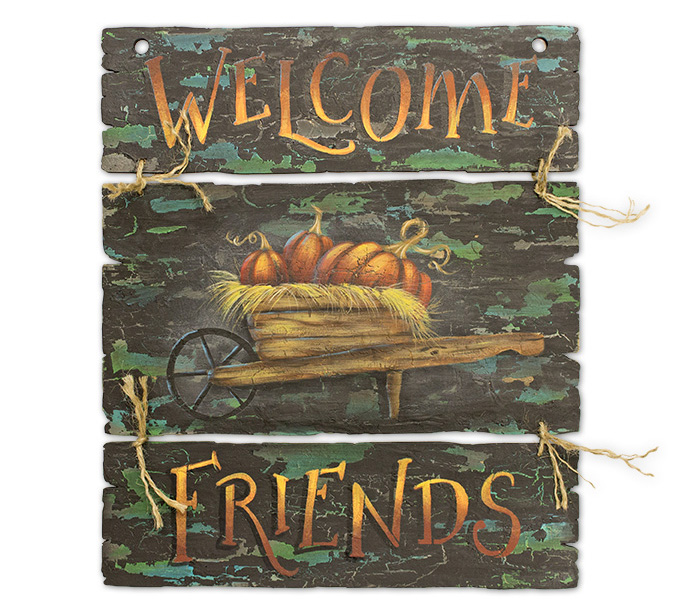 Autumn Welcome Pattern Packet - Patricia Rawlinson