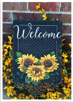 Sunny Sunflower Welcome - E-Packet - Tracy Moreau