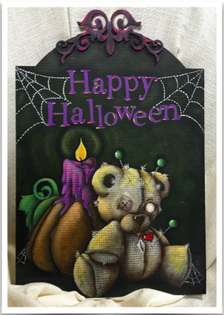 Voo Doo Bear Halloween - E-Packet - Tracy Moreau