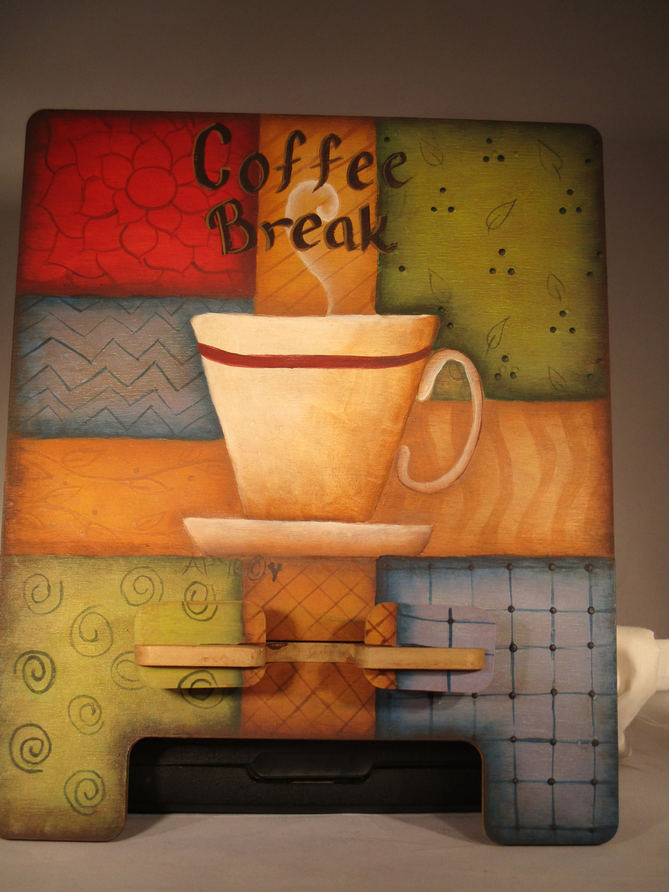 Coffee Break Tablet Stand - E-Packet - Ann Perz