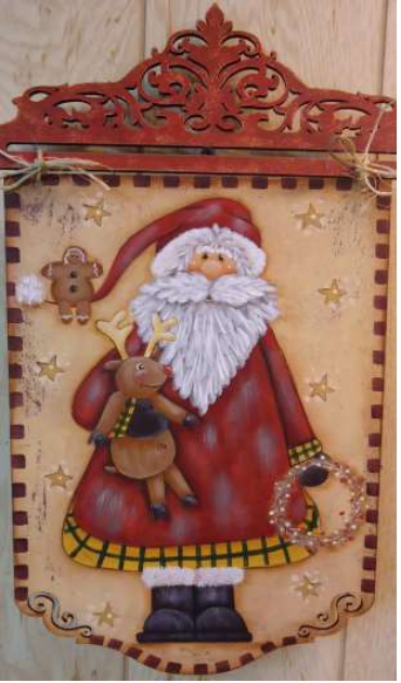Tattered Santa - E-Packet - Betty Bowers