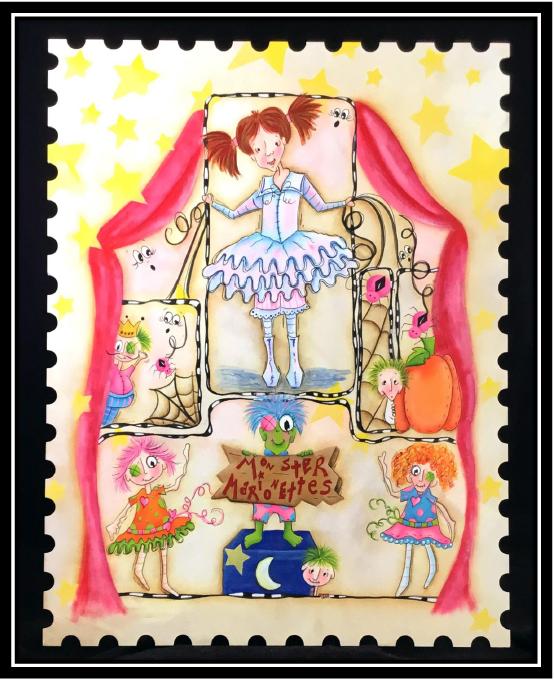 Monster Marionettes - E-Packet - Christy Hartman