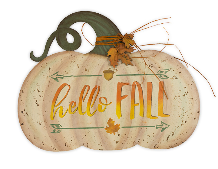 Hello Fall Pumpkin - E-Packet - Maria Hampton