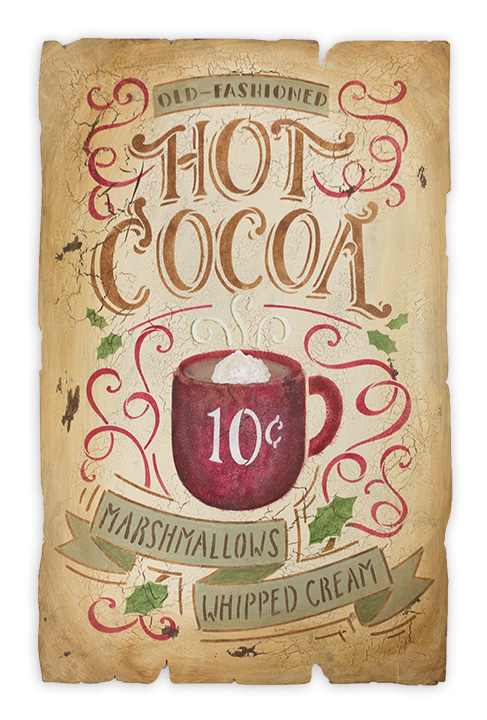 Hot Cocoa Sign - E-Packet - Maria Hampton