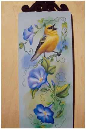 Blue Winged Warbler - E-Packet - Karen Hubbard