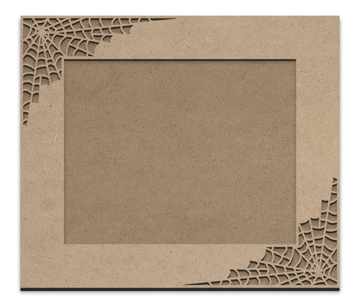 "Spiderweb Frame Overlay Set - Rectangle Opposing Corner - For 8"" x 10"""