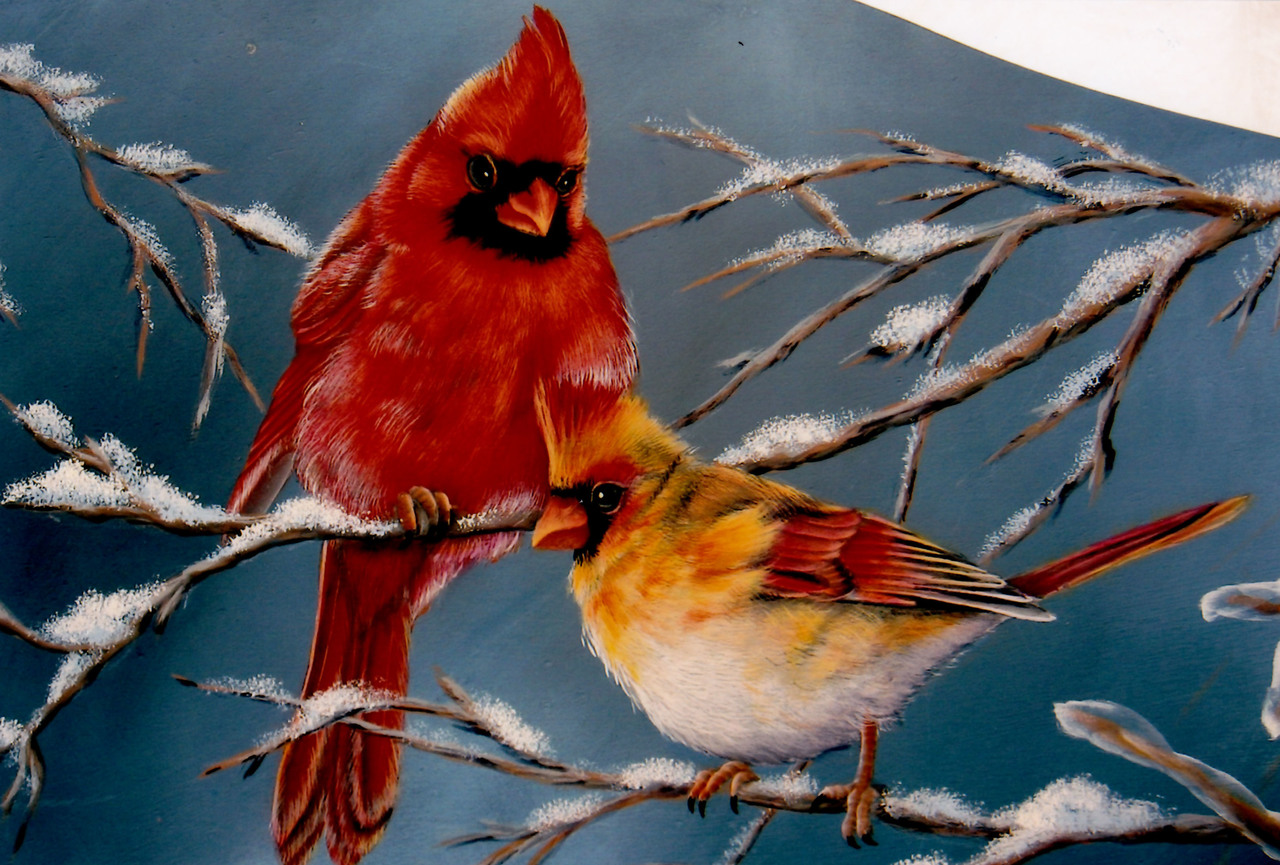 Winter Birds Door Crown - E-Packet - Karen Hubbard