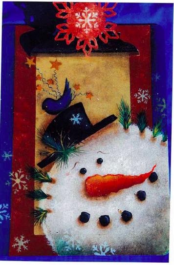 """Clipper"" the Snowman - E-Packet - Janice Miller"