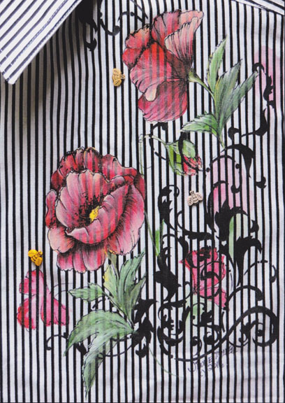 Fabric Poppies - E-Packet - Janice Miller