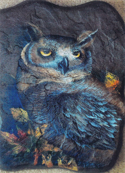 Hooty Who.. Owl Stepping Stone - E-Packet - Janice Miller