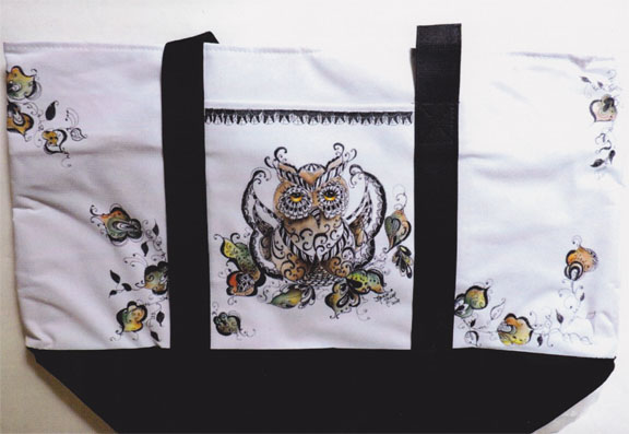 """Jan"" Tangle Owl - E-Packet - Janice Miller"