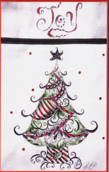 Joyful Christmas Tree - E-Packet - Janice Miller