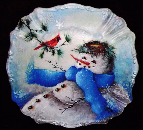 Snowman & Friend - E-Packet - Janice Miller