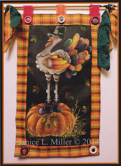 Turkey Screen - E-Packet - Janice Miller
