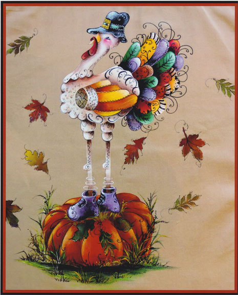 """Tangling Tom Turkey"" - E-Packet - Janice Miller"