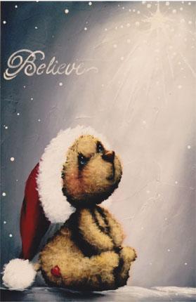 Believe Christmas Star Bear - E-Packet - Holly Hanley
