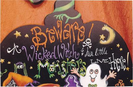 Beware!! Pumpkin - E-Packet - Holly Hanley