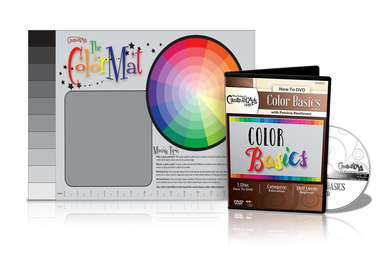 Color Mixing Mat + Color Basics DVD