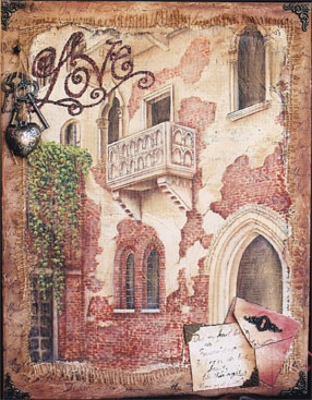 Love...Romeo & Juliet Balcony - E-Packet - Holly Hanley