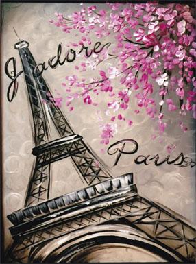 J'Adore Paris - E-Packet - Holly Hanley