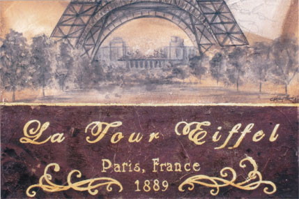Postcards From Paris - E-Packet - Holly Hanley