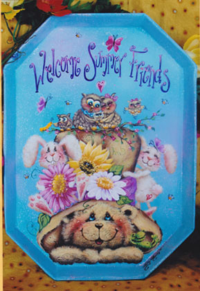 Summer Friends Welcome Tray - E-Packet - Holly Hanley