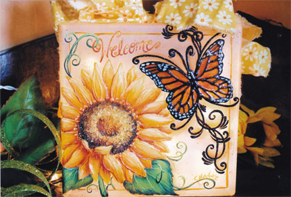Sunflower & Monarch - E-Packet - Holly Hanley