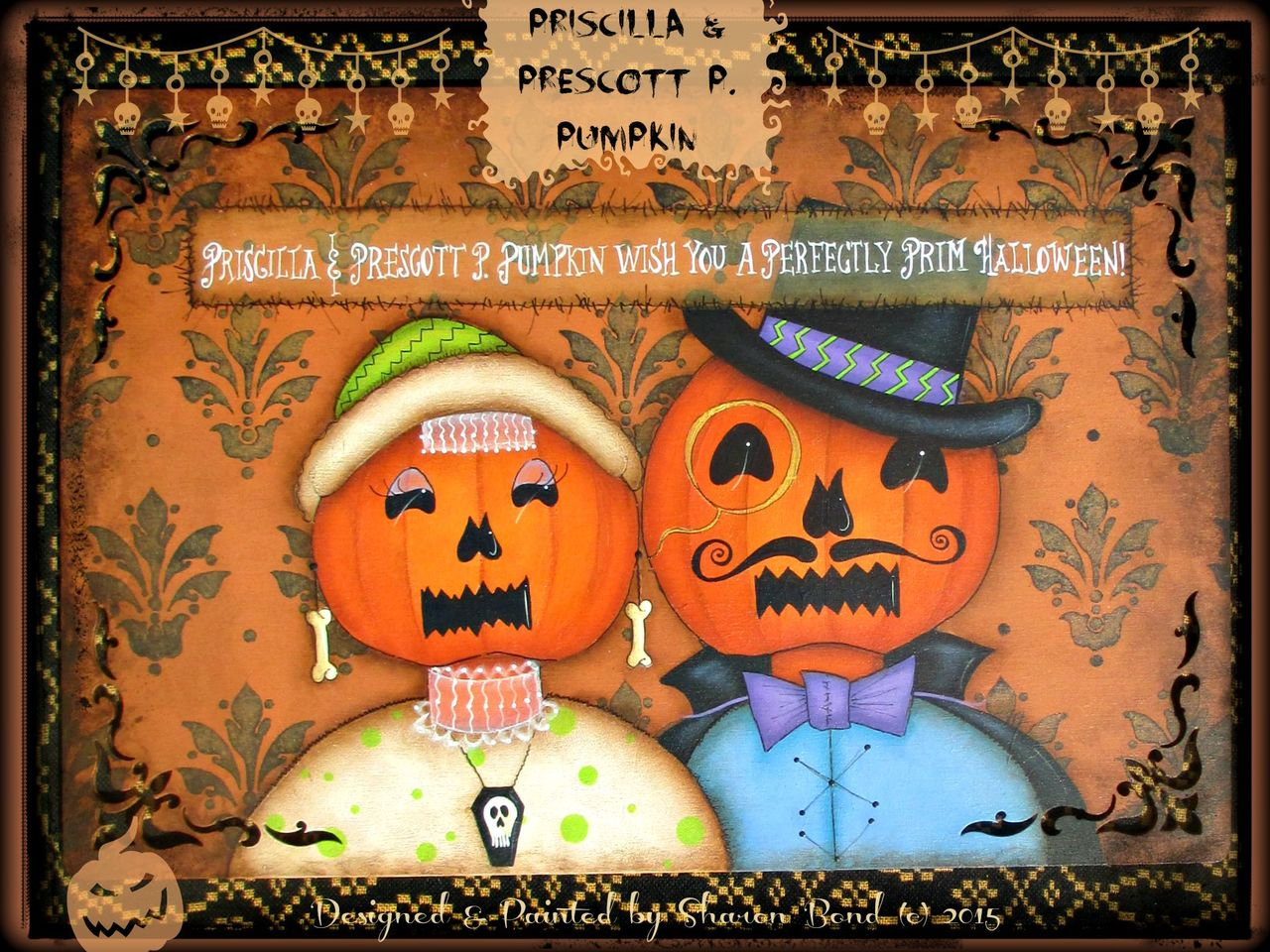 Priscilla & Prescott Pumpkin - E-Packet - Sharon Bond
