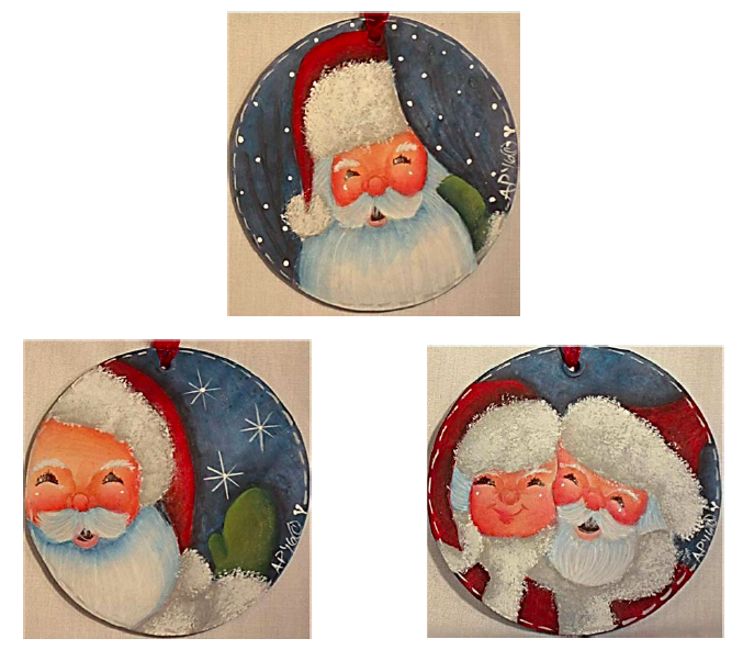 The Many Faces of Santa - E-Packet - Ann Perz