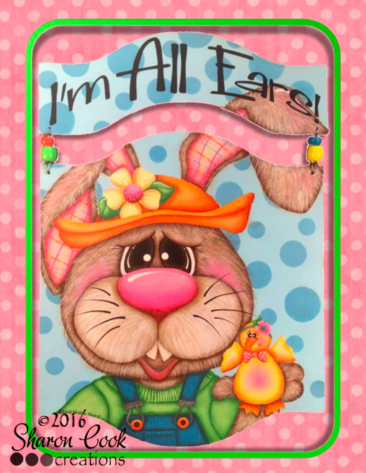 I'm All Ears - E-Packet - Sharon Cook